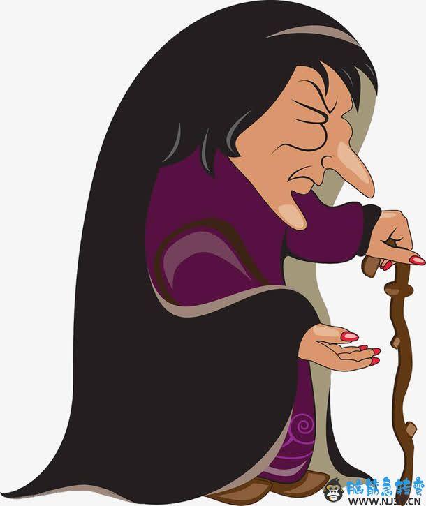 我知道了,巫婆就是巫师的老婆