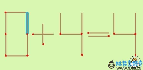 0+4=4!解出来的话再看第三种解法吧!